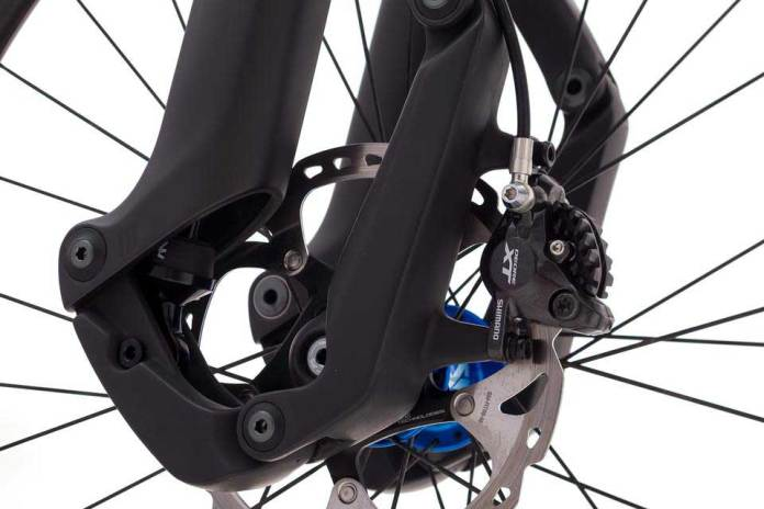 Trust Performance The Message is a new trailing link suspension fork for mountain bikes