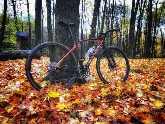 bikerumor pic of the day Mont St-Bruno (Sepaq), Devinci Hatchet carbon bike.