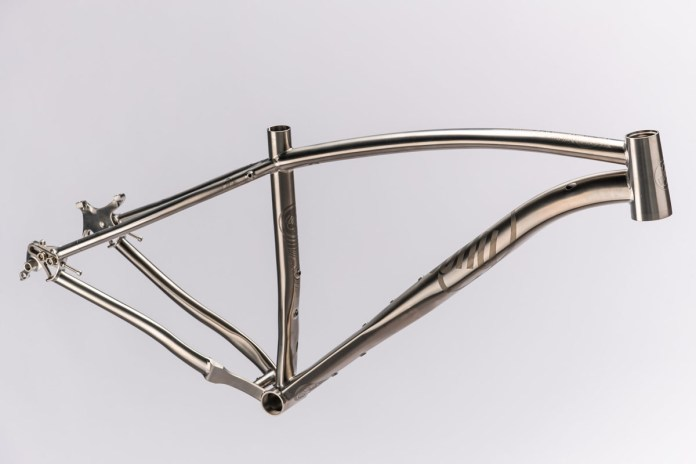 Why Cycles titanium S7 V2 hardtail drops the seat tube for longer droppers