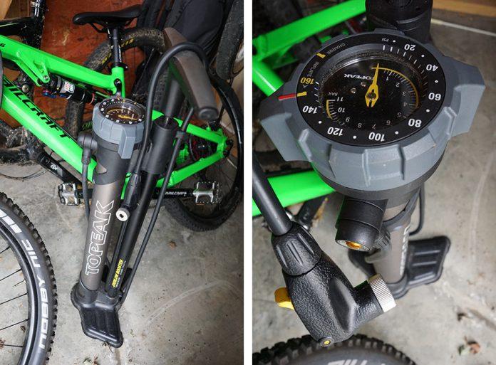 Topeak JoeBlow Booster high pressure tubeless tire inflator floor pump wins bikerumor editors choice runner up for best tool 2018