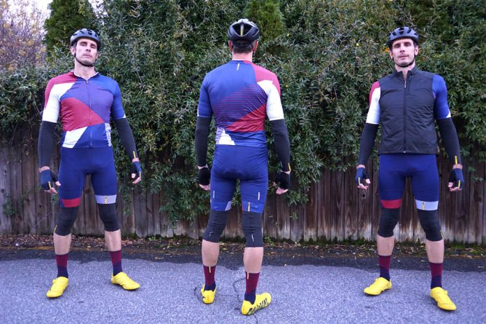 mavic road cycling apparel fits well and is some of the best bibshorts and jerseys