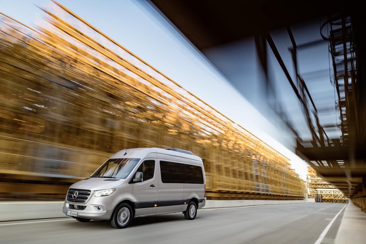 Vanlife Mercedes Benz Rolls Into The New Year W All New 2019