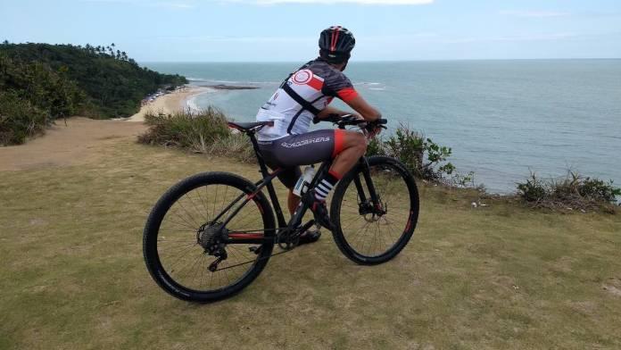 bikerumor pic of the day Arraial D'Ajuda in the state of Bahia, for the Maratona dos descobrimentos.