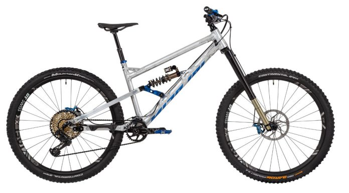 Nicolai G1 is basically an enduro Transformer with your choice of wheels