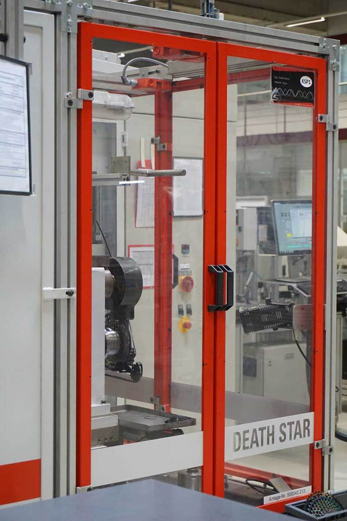 SRAM Schweinfurt Headquarters tour shows their drivetrain testing lab and design center
