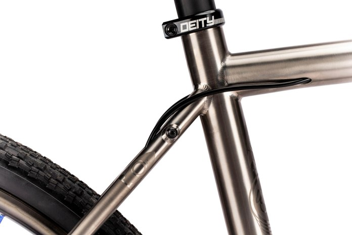 Why you can carry more things w/ the Why Cycles R+ v3 titanium gravel road bike