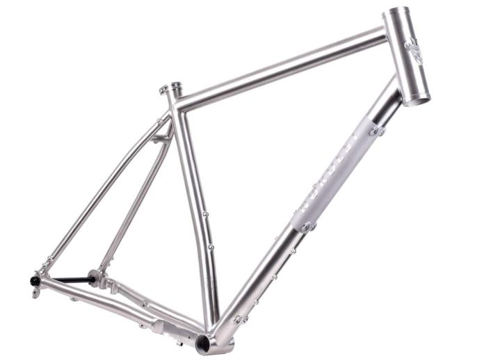 Nordest Albarda Ti affordable titanium all-road adventure gravel bike