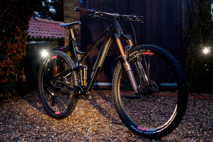 Pace Cycles teases first carbon full suspension 29er, the RC295
