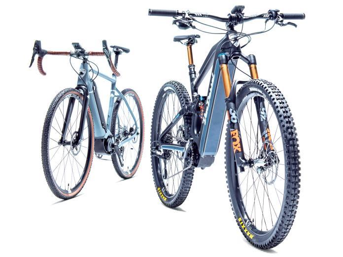 Panasonic e-bikes for Van Dessel & Univega
