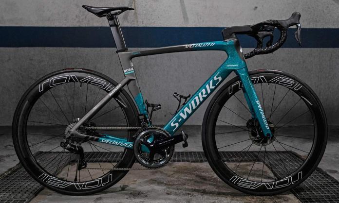 2019 Sagan editionBora-Hansgrohe S-Works Venge Disc road bike