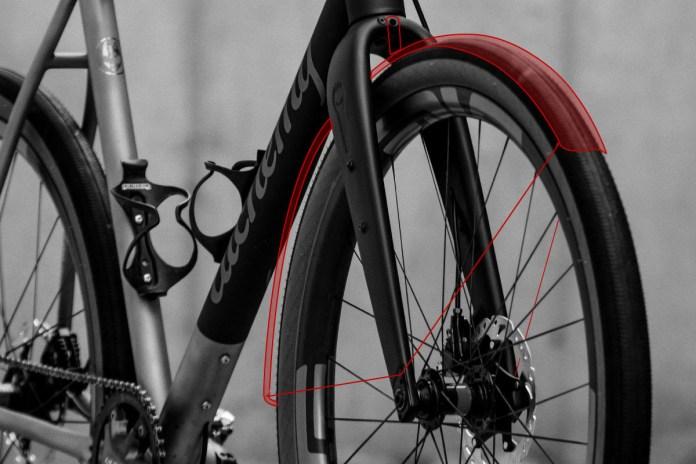 Rodeo Labs spork carbon fork fender eyelet flat mount disc