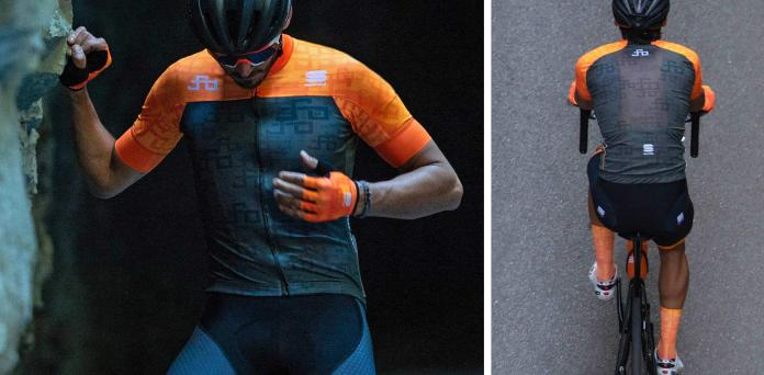SportfulPeter Sagan Line clothing on & off the bike