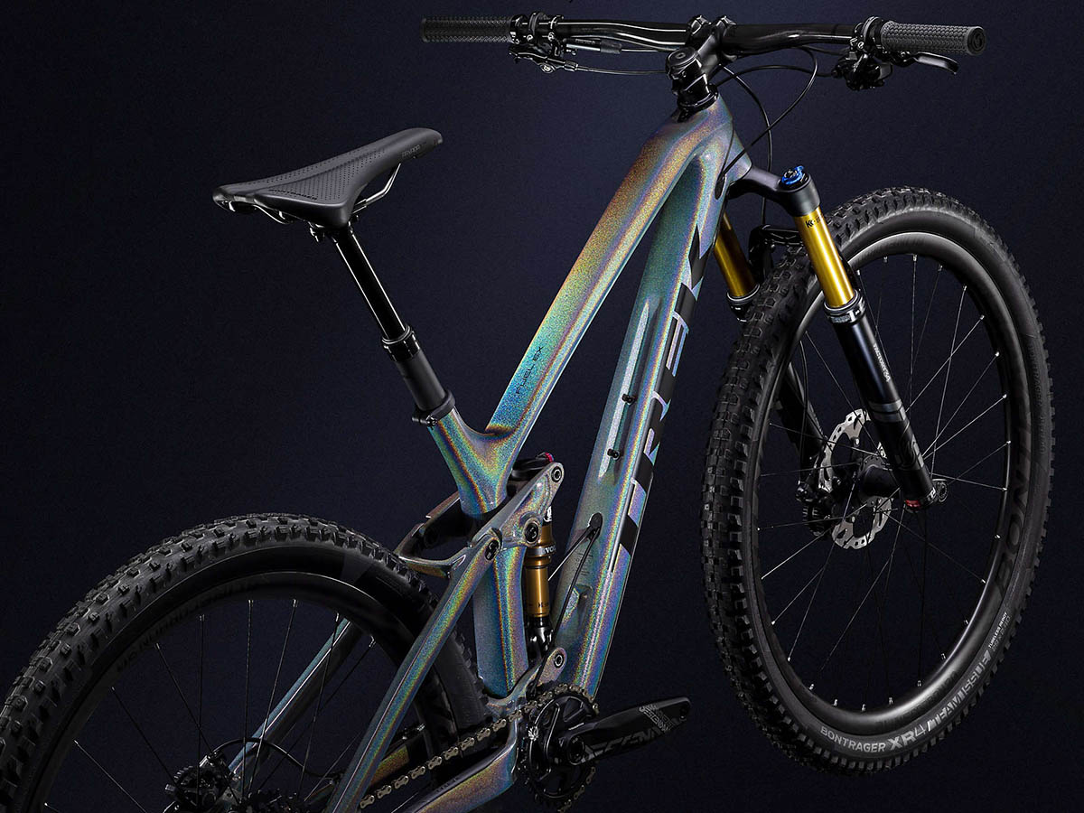 Trek takes MTB line to full bling with Project One ICON paintjobs