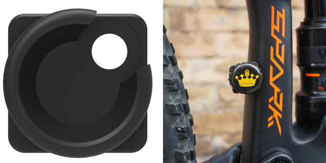 Zine high direct FD beer cover for 1x chainring