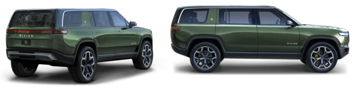 Rivian R1S electric SUV technical details specs and pricing