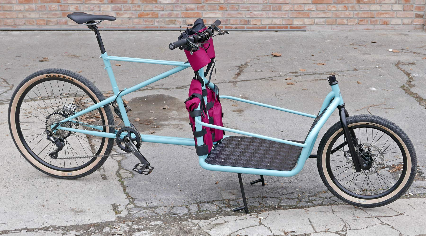 REcycle Bronte, your old bike reborn as a modern made-in-Italy cargo bike