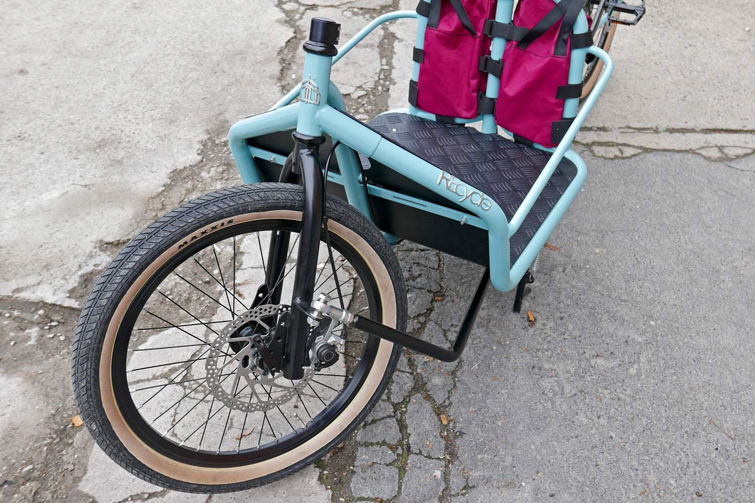 REcycle Bronte Remakes Your Old Bike As A Modern Italian Cargo