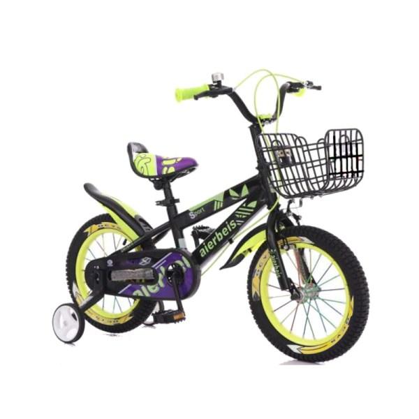 Sporty Kids Bicycle 14 16 18 Wheel Size - Black Yellow Singapore Online