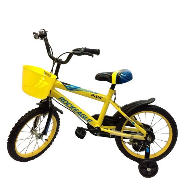 Children Bike 16 18 Wheel Size - Yellow Singapore Online Kids Bicycle