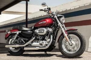 Review of Harley Davidson 2017 Sportster 1200 Custom  Bikes Catalog