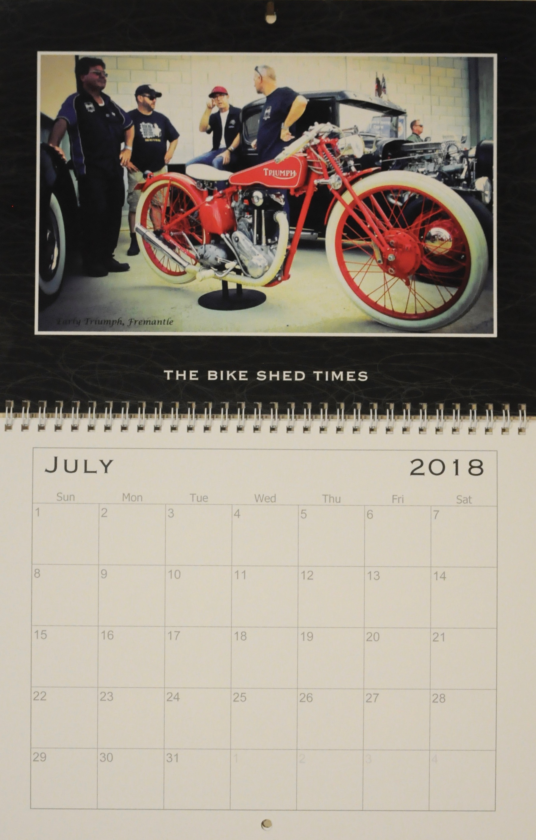 The Bike Shed Times 2018 wall calendar — order yours now for ...