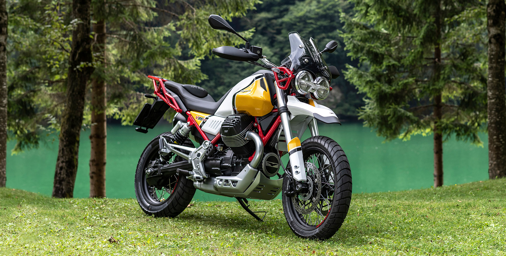 Moto Guzzi V85tt Confirmed For Australia But Can It Take On Honda Twin Bmw Bikes Press Photos Show The Pre Production Bike Every Bit As Stylish Concept Looks A Retro Is Talking Up Thoroughly Modern