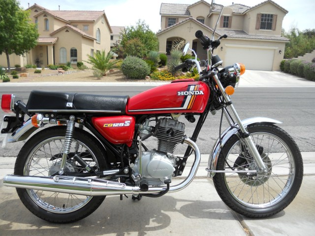 honda cb 125 n 1980 hobbiesxstyle. Black Bedroom Furniture Sets. Home Design Ideas