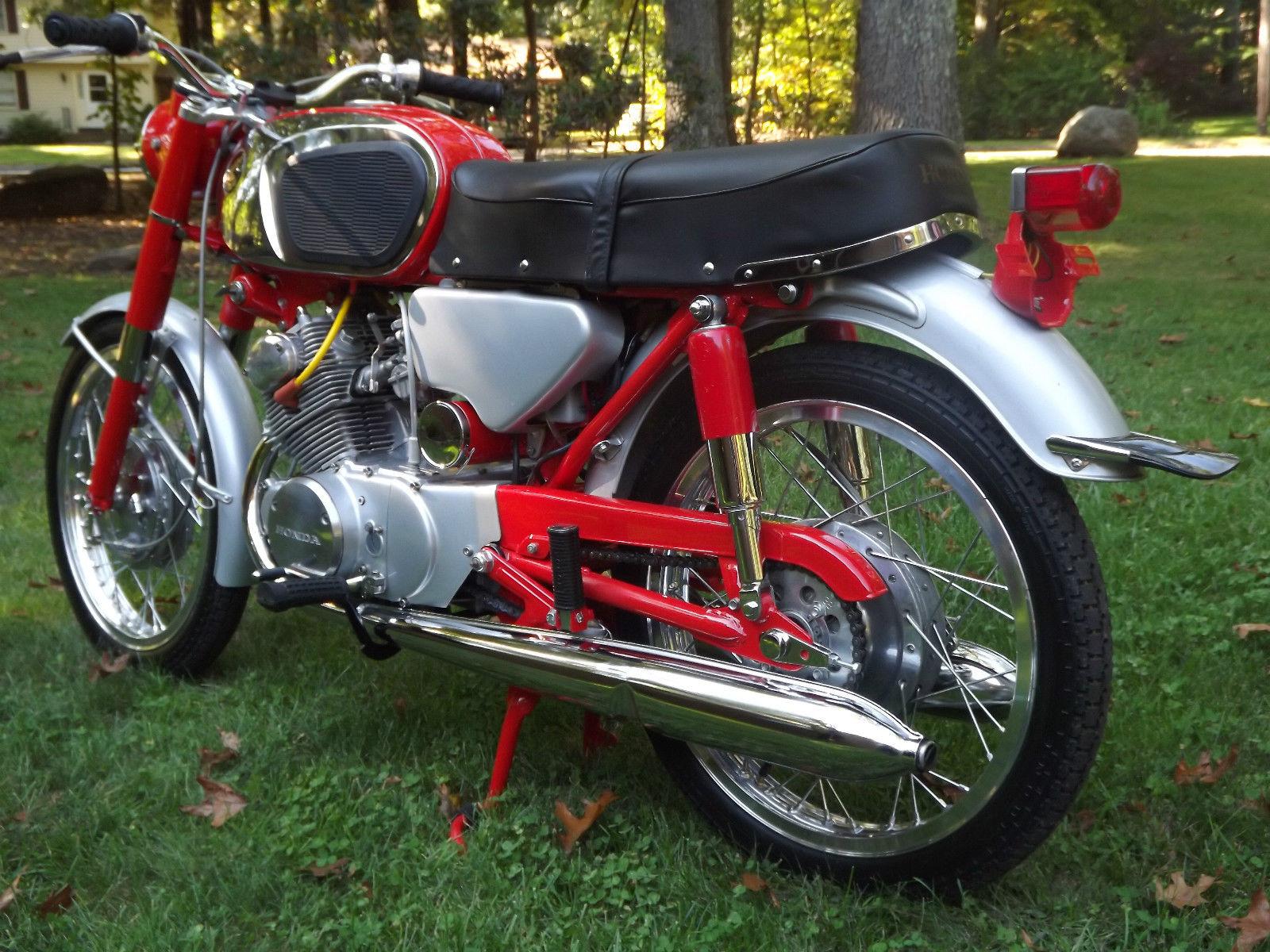 Restored Honda Cb160