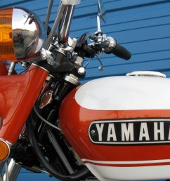 yamaha r5 350 1971  [ 1600 x 1200 Pixel ]