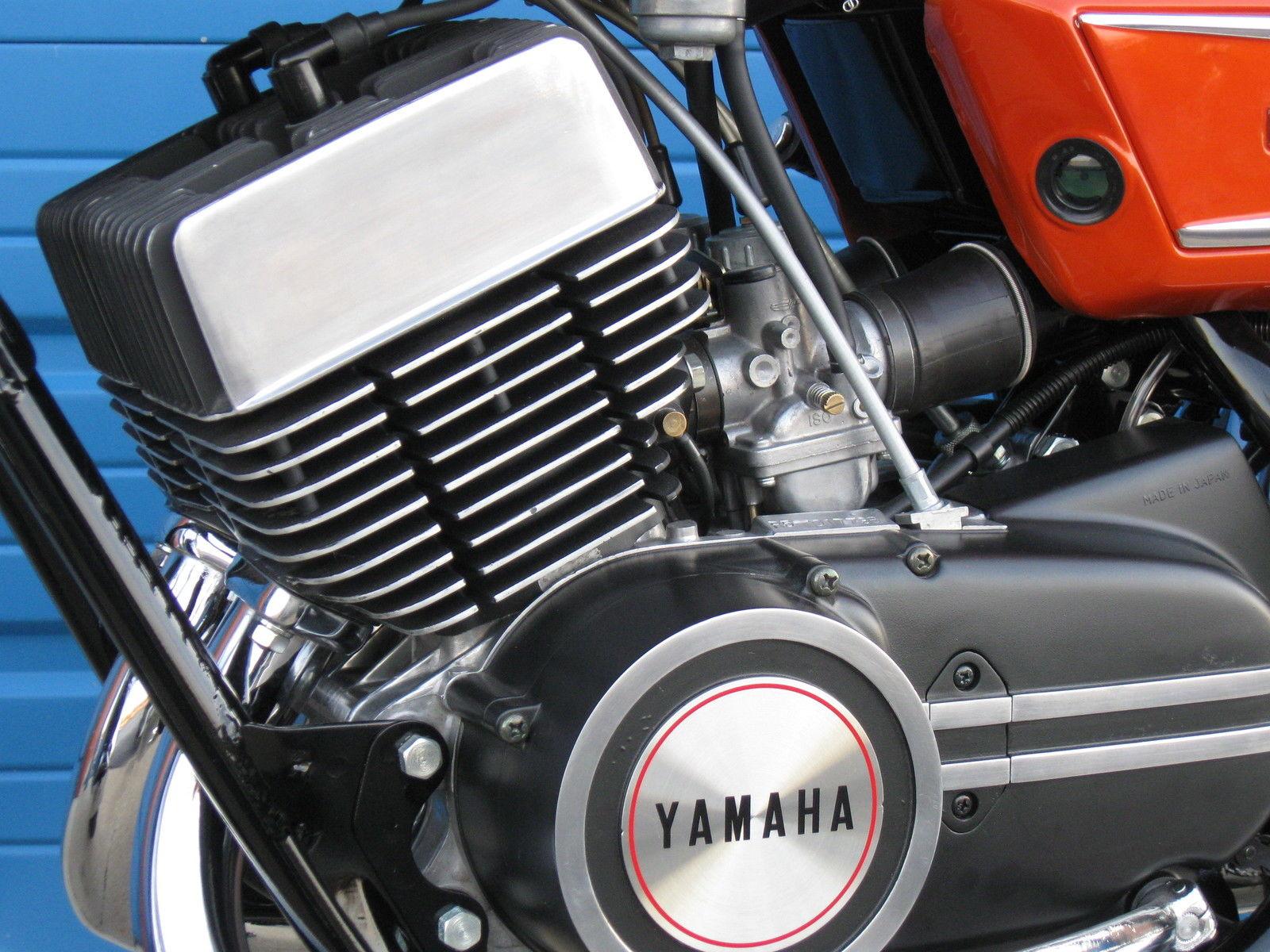 hight resolution of yamaha r5 350 1971