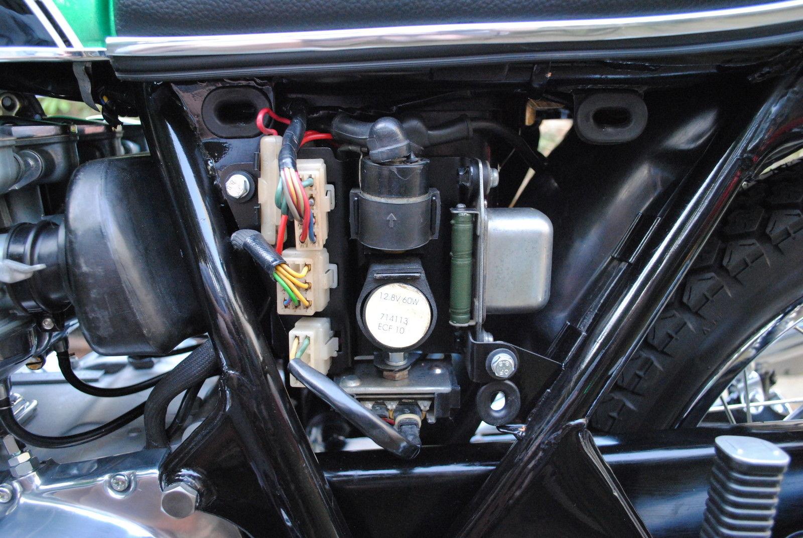 Triumph T120 Wiring Diagram Restored Honda Cb500 Four 1972 Photographs At Classic