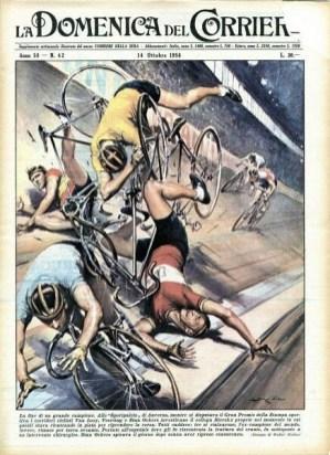 Achille Beltrame, caduta Van Loy e ockers