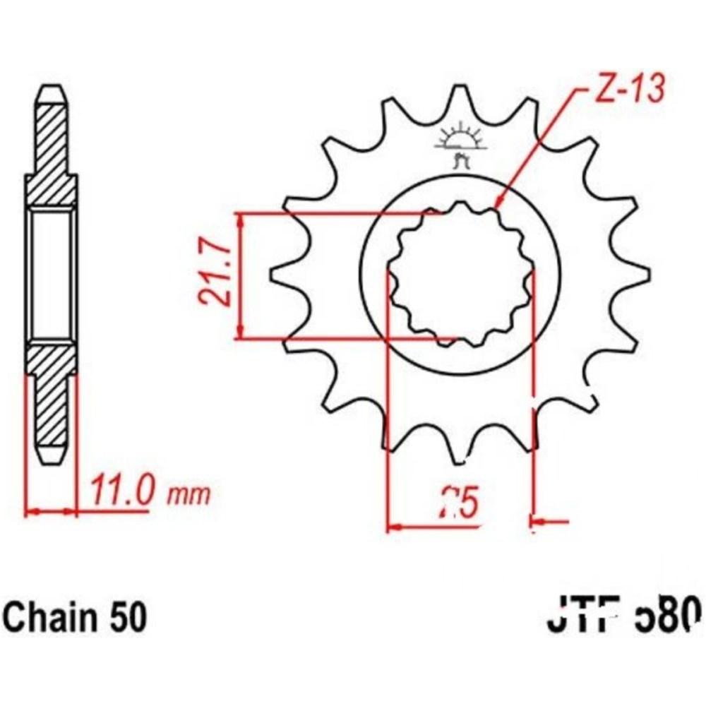 medium resolution of chain kit yam fz6 600 9725242850271059
