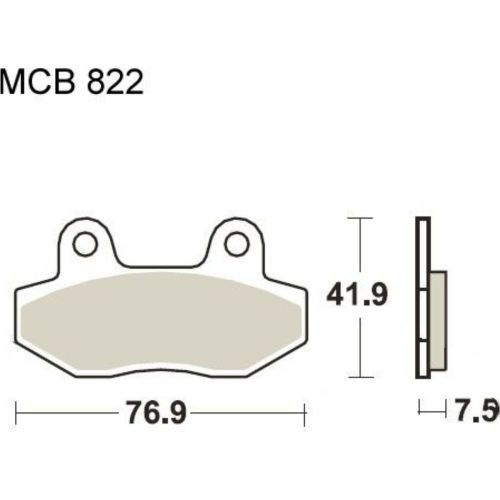 small resolution of brake pads std trw mcb822 f r peugeot speedfight 4 50 2015 2016 5 4 ps 4 kw