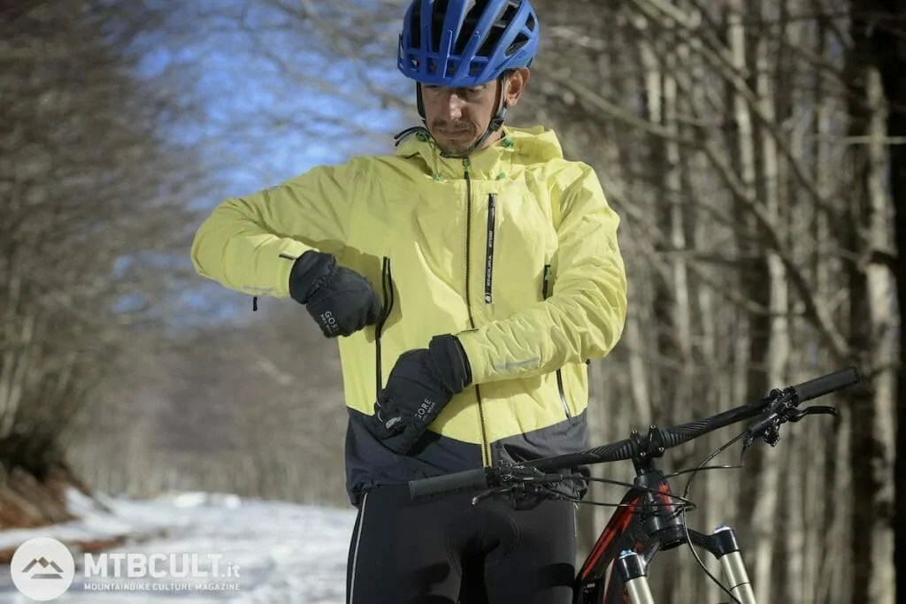Inverno In Mountain Bike