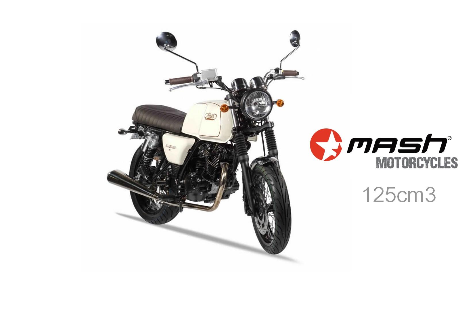 Location de MASH 125cc Brown Edition à Nice chez le