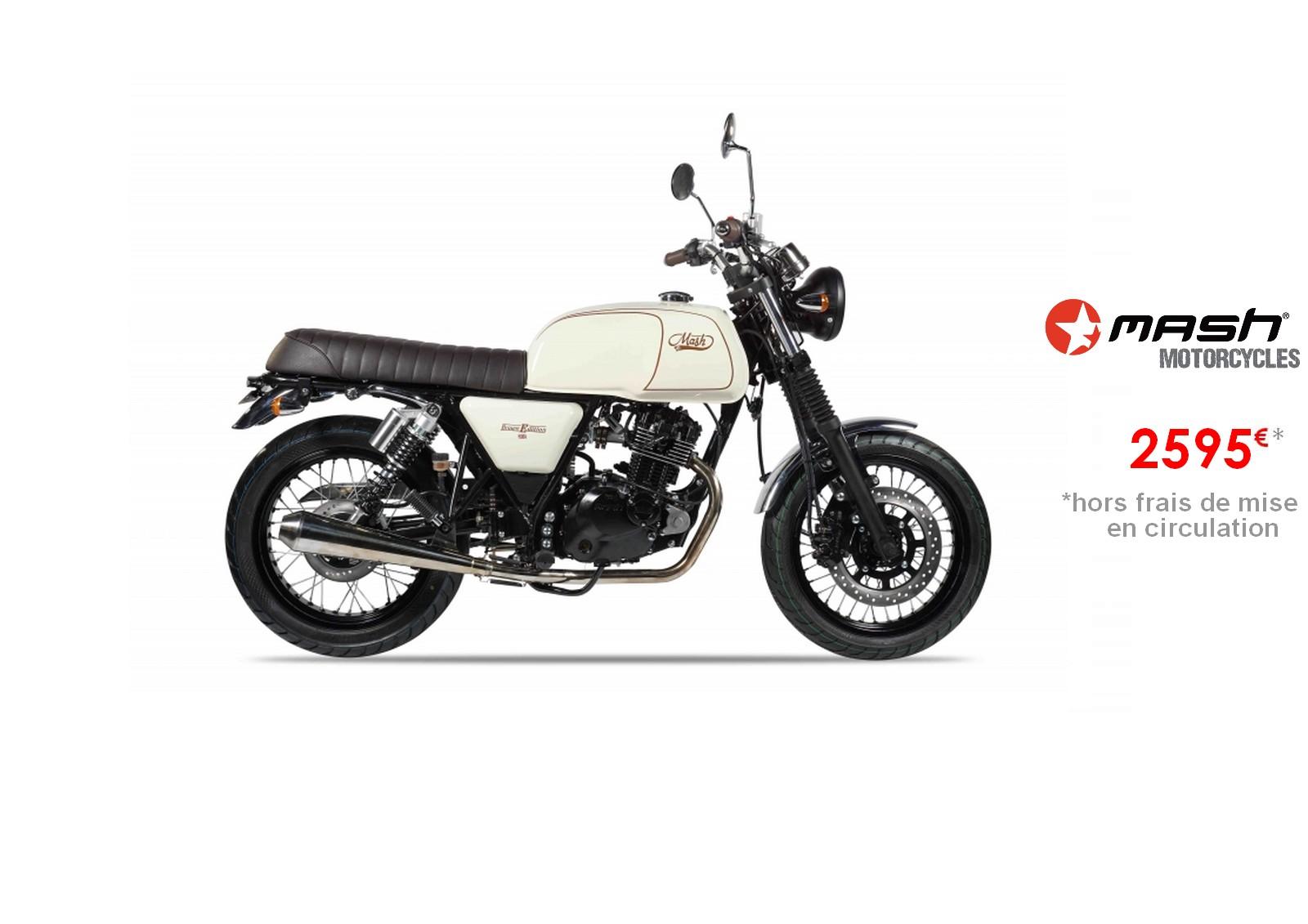Votre concessionnaire moto Mash black seven 125cm3 à Nice