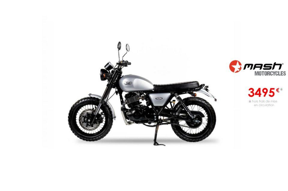 Votre concessionnaire moto Mash 250cm3 à Nice