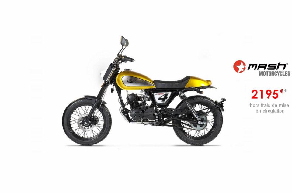 Votre concessionnaire moto Mash Dirt 50cm3 à Nice