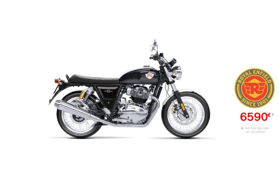Votre concessionnaire moto Royal Enfield Interceptor 650cc