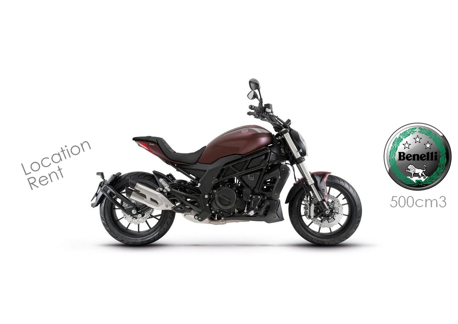 Location de moto à Nice, découvrez la Benelli 502C