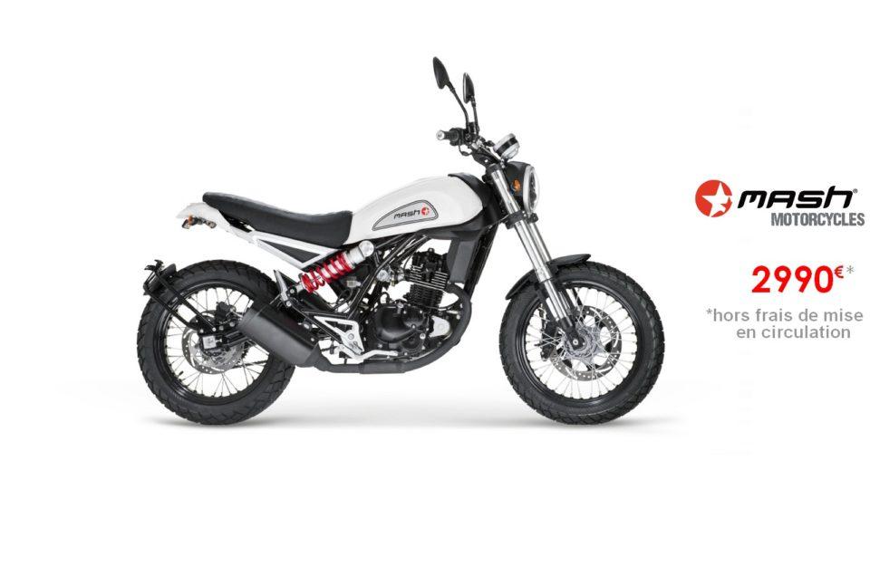 Votre concessionnaire moto Mash Falcone 125cm3 à Nice