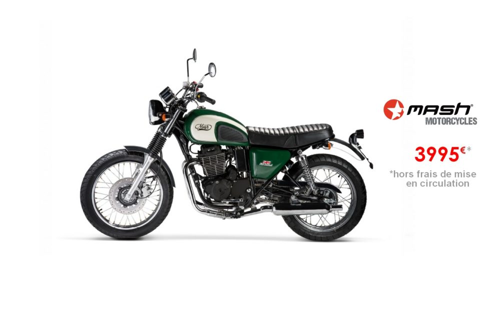 Votre concessionnaire moto Mash Five Hundred Irish Green