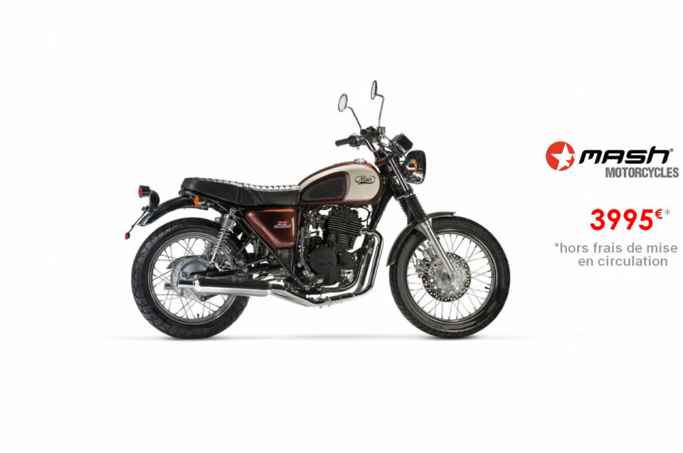 Votre concessionnaire moto Mash Five Hundred Brown 400cm3