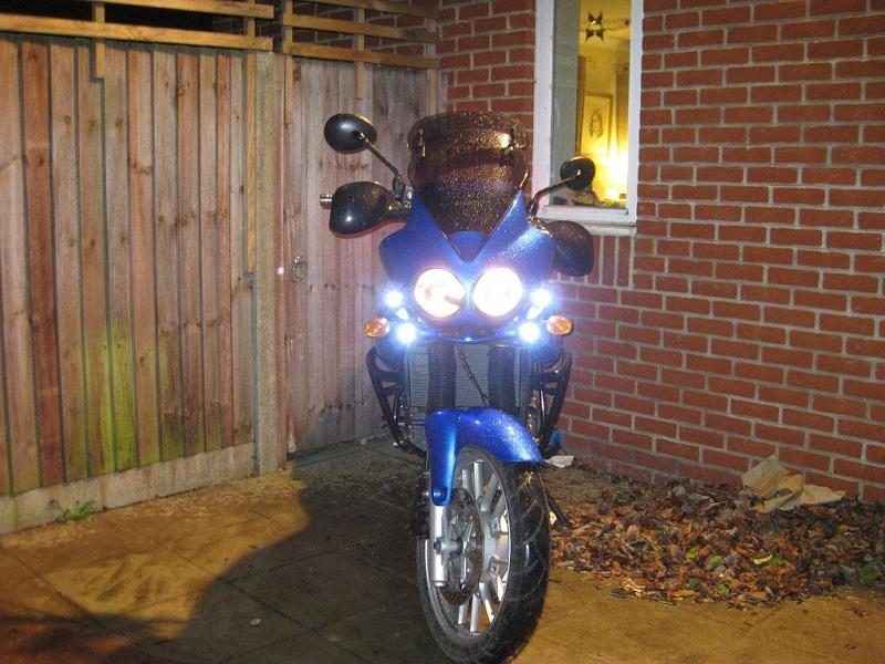 Bikevis Bullets Motorcycle Led Running Lights