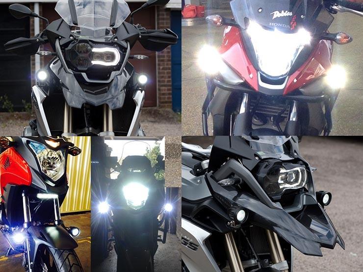 Honda Motorcycle Headlight Wiring Diagram Bikevis Cree Led Aux Lights Bikevis