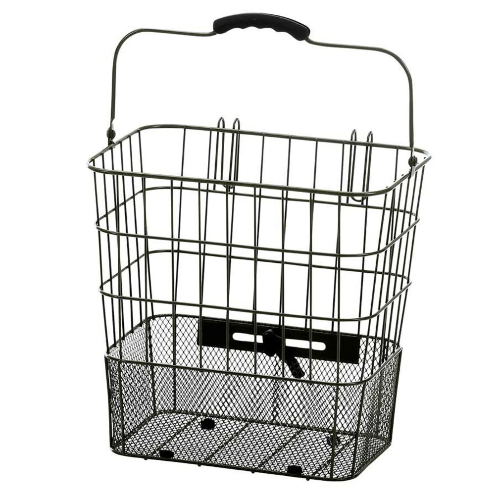 XLC Side Basket Pannier w/Ez Mount wire/mesh 13X9.5X12.5