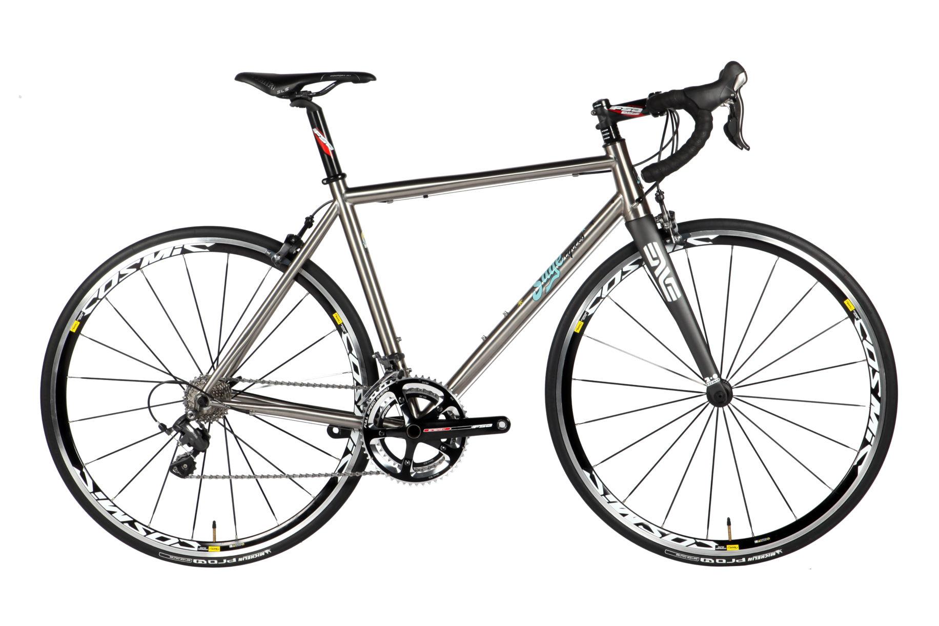 Portland's Sage Cycles Unveils 2014 Lineup of Titanium