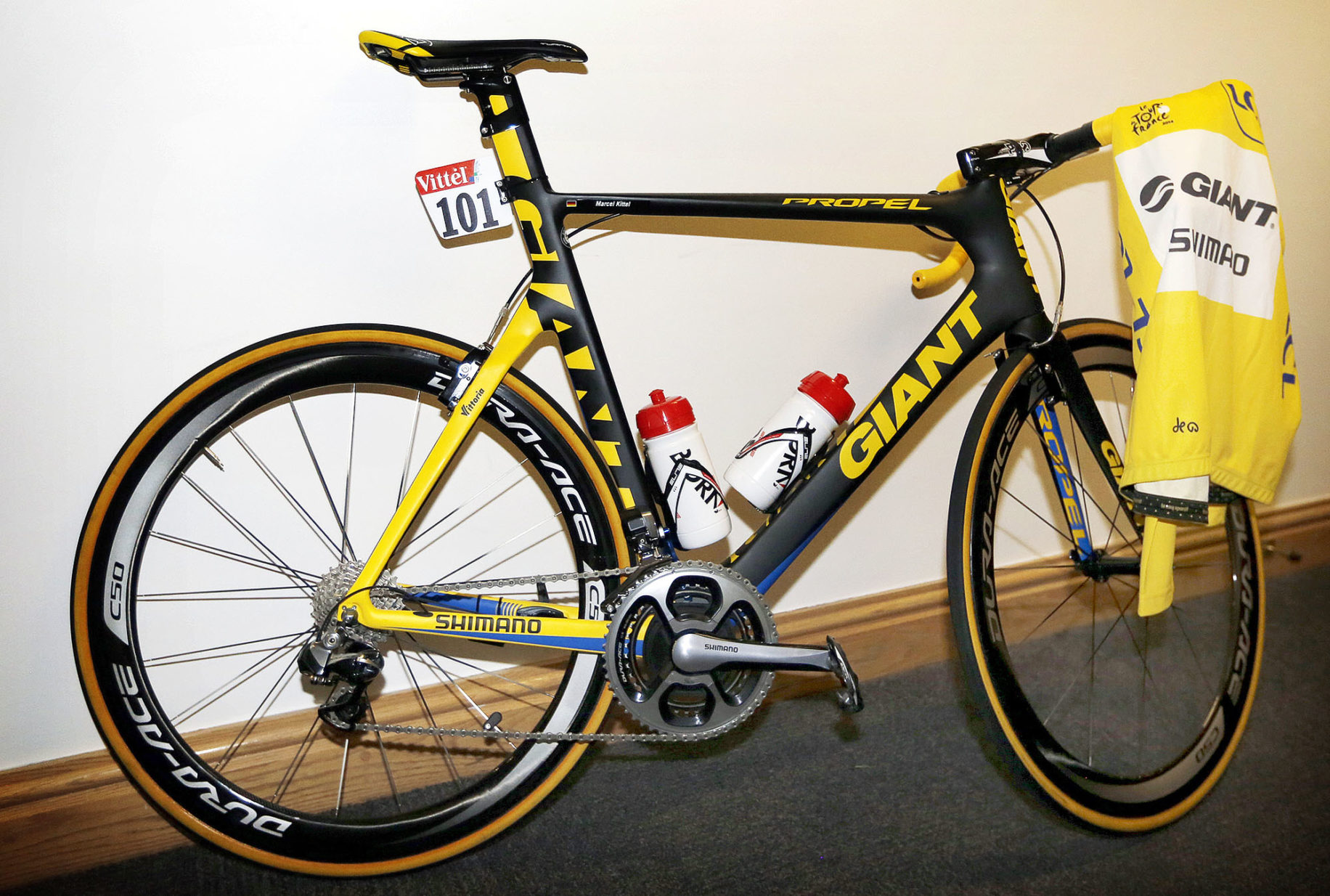 Marcel Kittel Gets Special Giant Propel For Stage 2