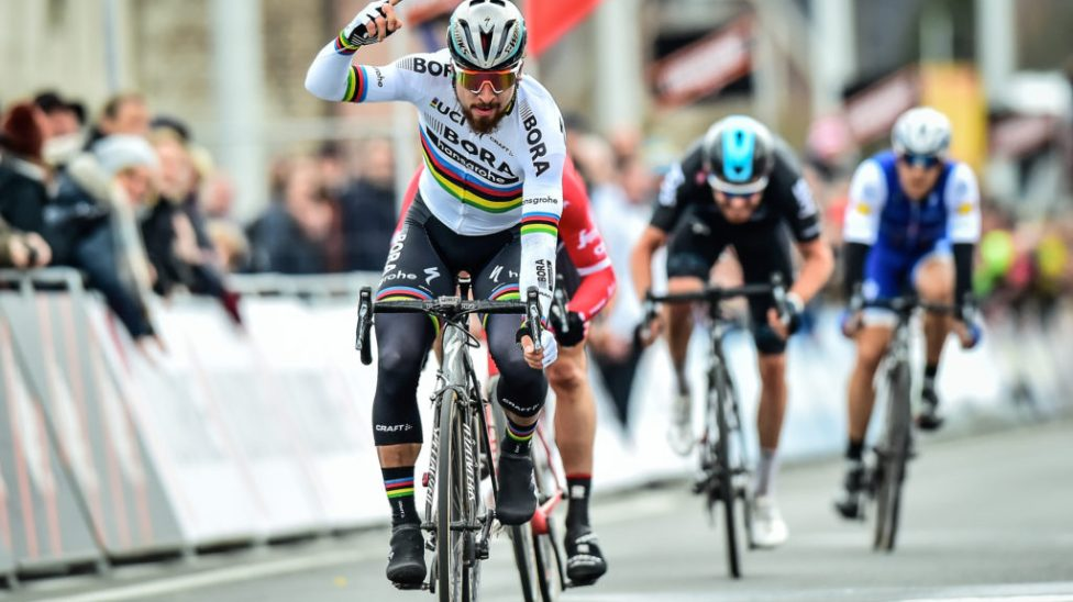 Peter Sagan takes first win for BORA - hansgrohe at Kuurne